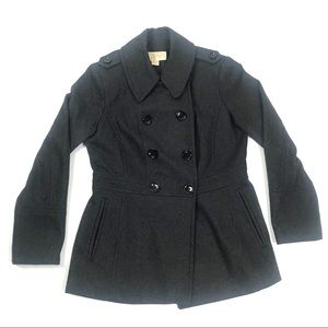 Michael Kors Small Double Breasted Pea Coat MK